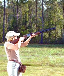 Clay Target Shooting at the Raithwaite Estate