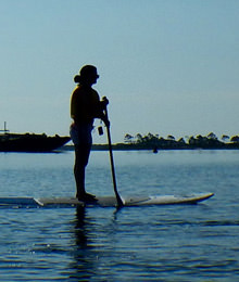 Standup Paddleboarding at the Raithwaite Estate