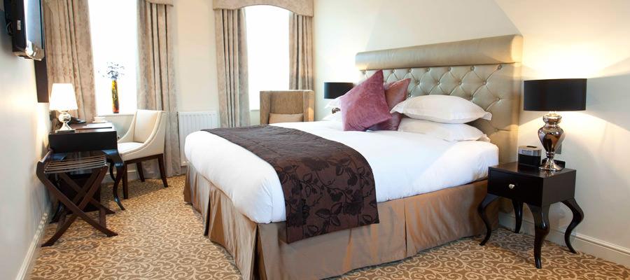 Suites Bedroom at The Hall Raithwaite Estate