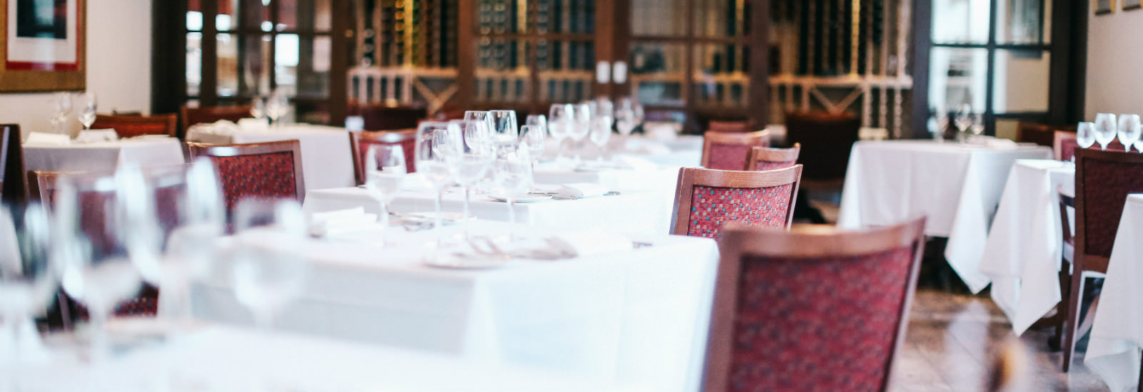 Brace Restaurant at Raithwaite Estate dining layout