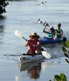 Kayaking and Row Boating during your stay